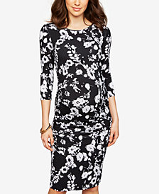 Isabella Oliver Maternity Printed Sheath Dress