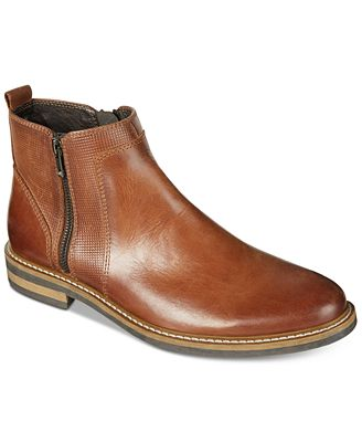 alfani s jayce textured chelsea boots created for