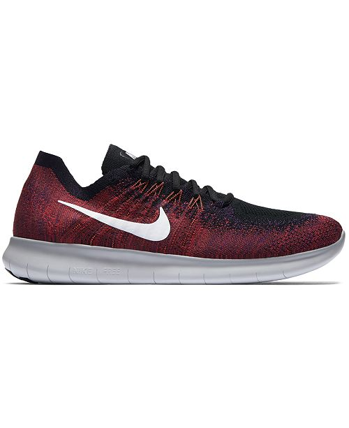 ... Nike Men s Free Run Flyknit 2017 Running Sneakers from Finish Line ... af6c69ad8