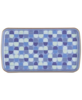 Dinnerware Heritage Fountain Collection Accent Rectangular Platter