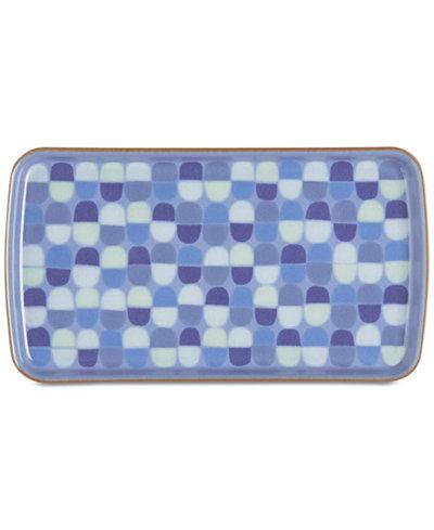 Denby Dinnerware Heritage Fountain Collection Accent Rectangular Platter