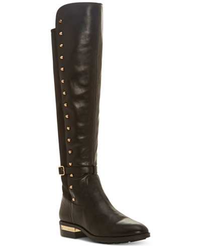 Vince Camuto Women S Pelda Studded Riding Boots Boots