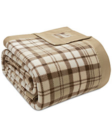 True North by Sleep Philosophy Plaid Micro-Fleece Full/Queen Blanket