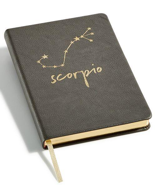Celebrate Shop Zodiac Faux-Leather Notebook