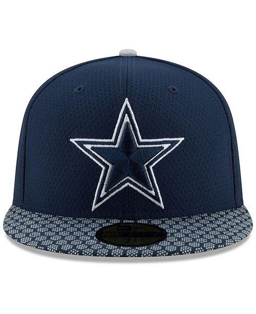 24bc218aa10 ... ebay new era boys dallas cowboys sideline 59fifty fitted cap sports fan  shop by lids men