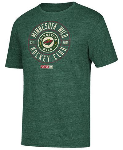 CCM Men's Minnesota Wild Wheelhouse T-Shirt