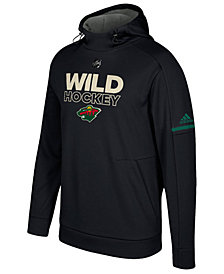 adidas Men's Minnesota Wild Authentic Pro Hoodie
