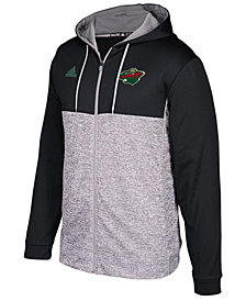adidas Men's Minnesota Wild Two Tone Full-Zip Hoodie