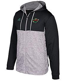 adidas Men's Minnesota Wild Two Tone Full-Zip Hoodie