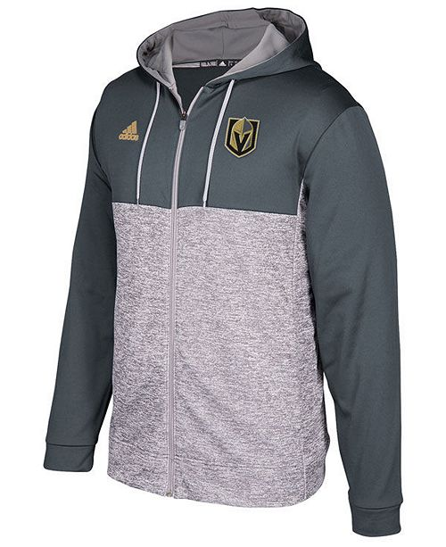 adidas Men s Vegas Golden Knights Two Tone Full-Zip Hoodie - Sports ... 1ada2c103
