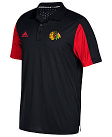adidas Men's Chicago Blackhawks Authentic Pro Game Day Polo