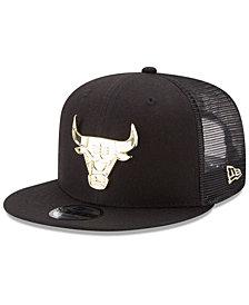 New Era Chicago Bulls Metal Mesh 9FIFTY Snapback Cap