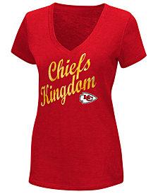 G-III Sports Women's Kansas City Chiefs Trophy T-Shirt
