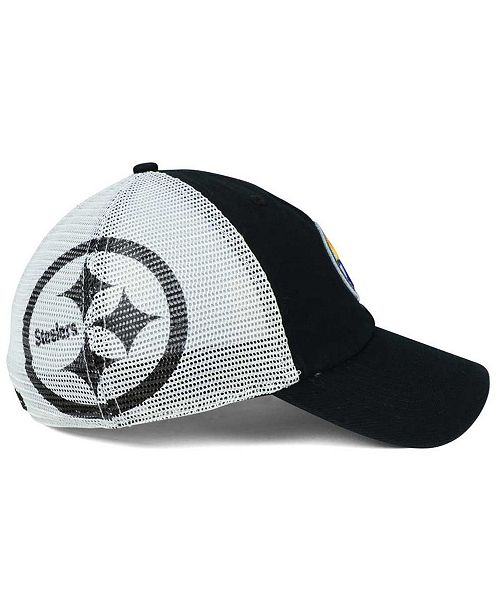 new concept c59ed fd056 ... reduced 47 brand pittsburgh steelers deep ball mesh closer cap sports  fan 007af a19f9