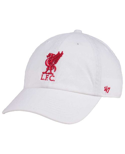 47 Brand Liverpool FC CLEAN UP Cap - Sports Fan Shop By Lids - Men ... 92ca314067c