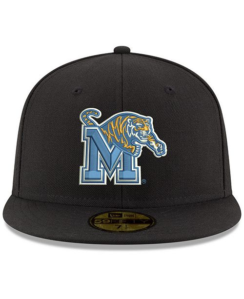 dd0bd028712 ... shop new era memphis tigers shadow 59fifty fitted cap sports fan shop  by lids men macys