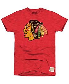Men's Chicago Blackhawks First Line Logo T-Shirt
