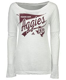 adidas Women's Texas A&M Aggies Pennant Pride Long Sleeve T-Shirt