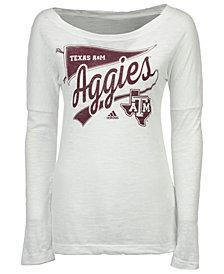 adidas Women's Texas A&M Aggies Pennant Pride Long Sleeve T-Shirt