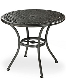 """Cast Aluminum 32"""" Round Outdoor Bistro Table, Created for Macy's"""