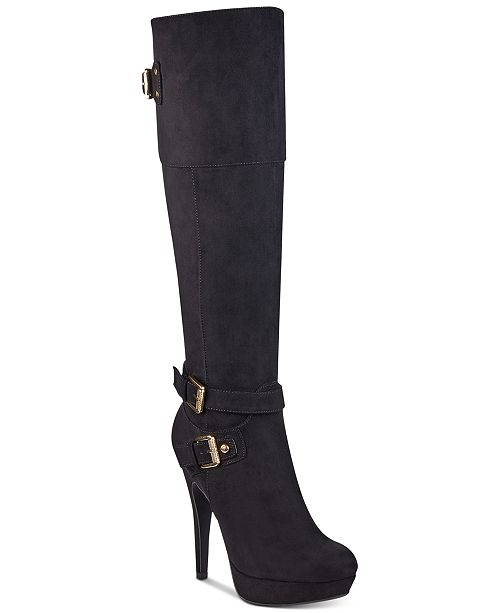 cheaper fashion sneakers G by GUESS Decco Platform Boots & Reviews - Boots - Shoes - Macy's