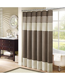 gold and brown shower curtain. Madison Park Amherst Colorblocked 108  x 72 Faux Silk Shower Curtain Curtains Macy s