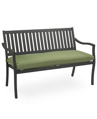 Commacys Outdoor Furniture : Madison Aluminum Outdoor Bench - Furniture - Macys