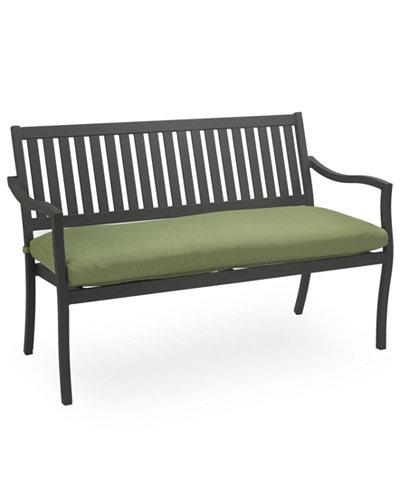 madison aluminum outdoor bench furniture macy 39 s