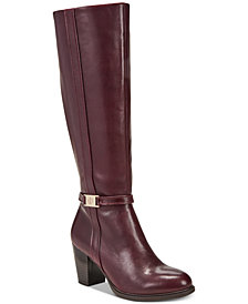 Giani Bernini Raiven Memory Foam Dress Boots, Created for Macy's