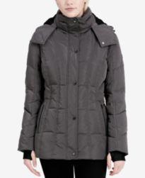 Calvin Klein Hooded Down Puffer Coat