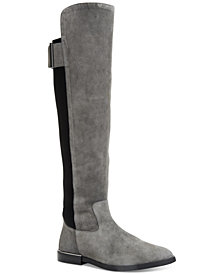 Calvin Klein Women's Priya Wide Calf Over-The-Knee Boots