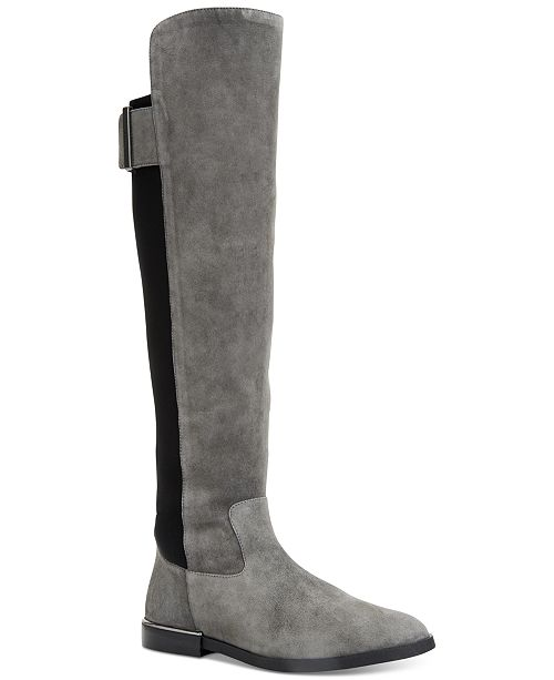 0724bd9c95b ... Calvin Klein Women s Priya Wide Calf Over-The-Knee Boots ...