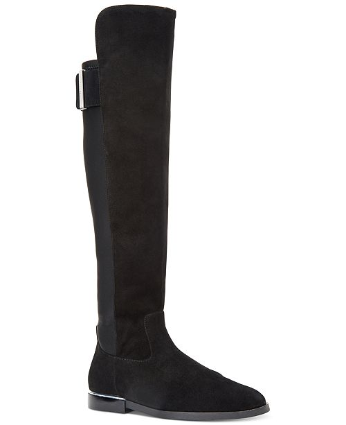 9225569a0d4 Calvin Klein Women s Priya Wide Calf Over-The-Knee Boots   Reviews ...