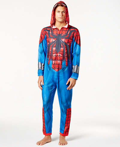 Briefly Stated Men's Spider-Man Costume Jumpsuit