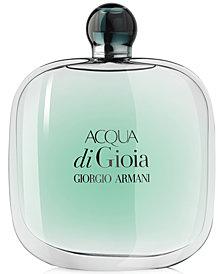 Giorgio Armani Acqua di Gioia Eau de Parfum Spray, 5.1 oz.