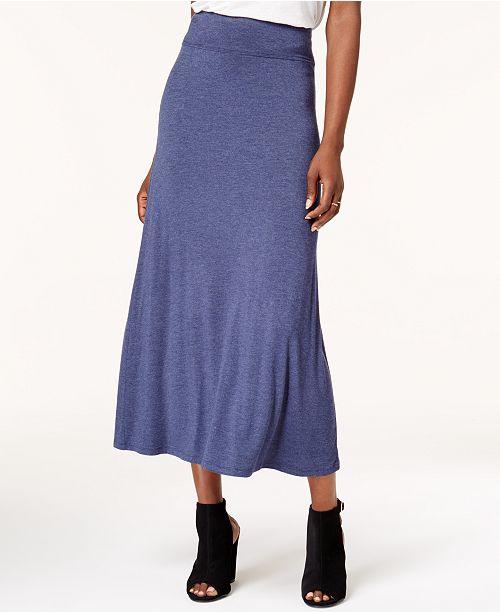 64890d40b kensie Solid Knit Maxi Skirt & Reviews - Skirts - Women - Macy's
