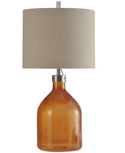 StyleCraft Cerino Seeded Table Lamp