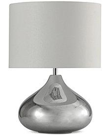StyleCraft Ladina Smoke Table Lamp