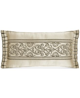 "Mirabella 18"" x 11"" Boudoir Decorative Pillow"