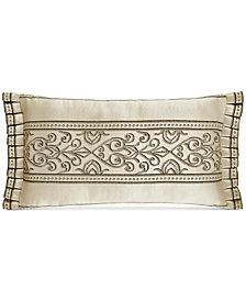 "J Queen New York Mirabella 18"" x 11"" Boudoir Decorative Pillow"