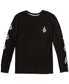 Logo-Print Cotton T-Shirt, Little Boys (4-7)
