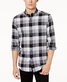 Men's Flannel Shirt, Created for Macy's