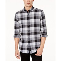 Deals on Club Room Men's Flannel Shirt
