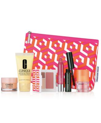 Choose your FREE 7-Pc. gift with any $28 Clinique purchase (A $75 ...