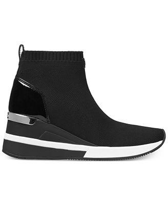 Lieblings Michael Kors Skyler Sneaker Booties - Boots - Shoes - Macy's &ZK_34