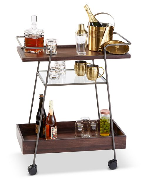 Hotel Collection CLOSEOUT! Bar Cart, Created for Macy's