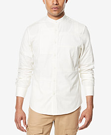 Sean John Men's Big & Tall Patchwork Shirt