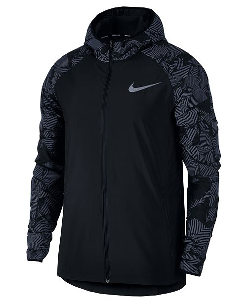 b1ff314873 Nike Men's Flash Water-Resistant Running Jacket & Reviews - Coats ...