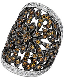 Le Vian Red Carpet® Diamond Filigree Statement Ring (2 ct. t.w.) in 14k White Gold