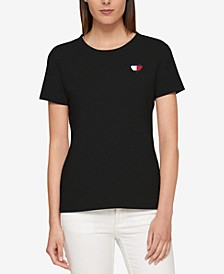 Embroidered T-Shirt, Created for Macy's